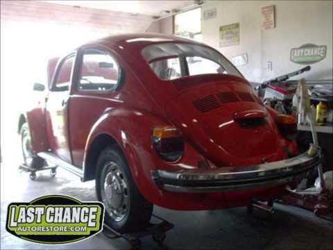 Classic VW Beetle Bug Restoration 1974 Sedan, By Last Chance Auto Restore.com
