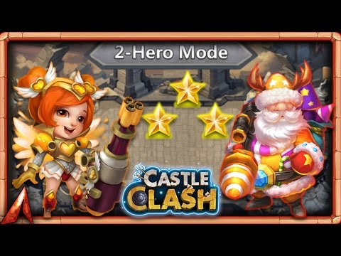 Squad Showdown 2v2 Testing! 8/8 Flameguard A Thing?  Castle Clash