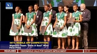 Nigeria's Team Wins First Prize In Int'l Mobile App Competition