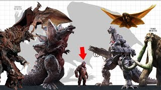 TOP 10 Largest GODZILLA Enemies