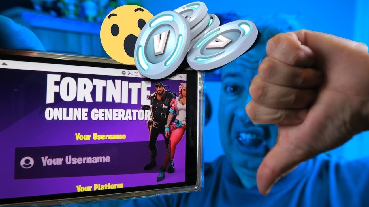 EXPOSED: How to get free vbucks fortnite is a scam!