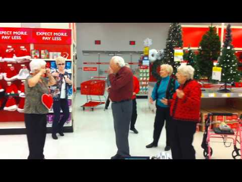 Senior Citizen Flash Mob - Lawrence, KS - Meadowlark Estates
