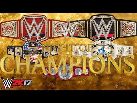 WWE 2K17 Universe Mode FINALE!!! WWE Night Of Champions PPV [Calgary, CA]