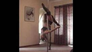 Vertical Dance Pole Competition