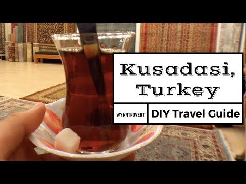 Virtual tour of Kusadasi, Turkey [Vlog, Travel Guide, Tips]