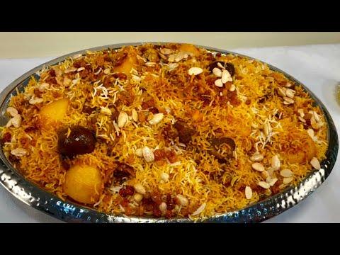 الذ واسرع رز كابلي من اشهر طباخ في سوق الطباخه بالمدينة المنوره