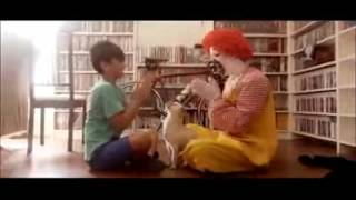ronald mcdonald freaks out