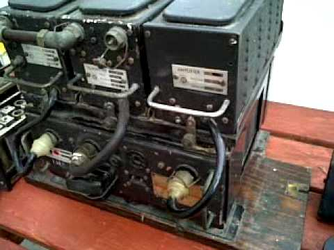 PYE PTC102  MOBILE RADIOTELEPHONE circa 1948 part1of 5