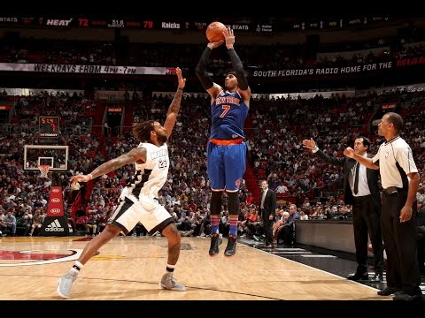 Carmelo Anthony's 35 Points Leads Knicks To Victory | 12.06.16