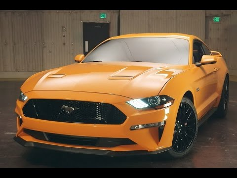 2018 Ford Mustang Introduced V6 Version Gearbox 10 Level Gt Revealed