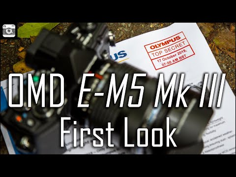 Olympus OM-D E-M5 Mark III Review - hands on first look!