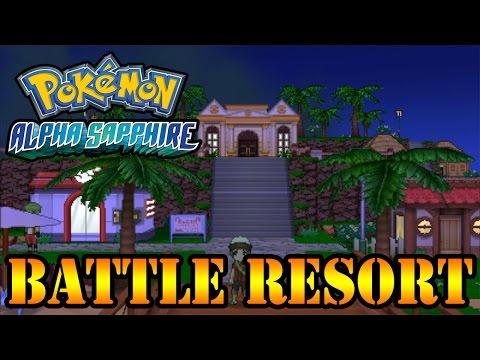 Pokémon AS/OR - Battle Resort