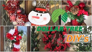 FOUR DOLLAR TREE DIYs  (for the holidays) / Christmas Decorations For Less