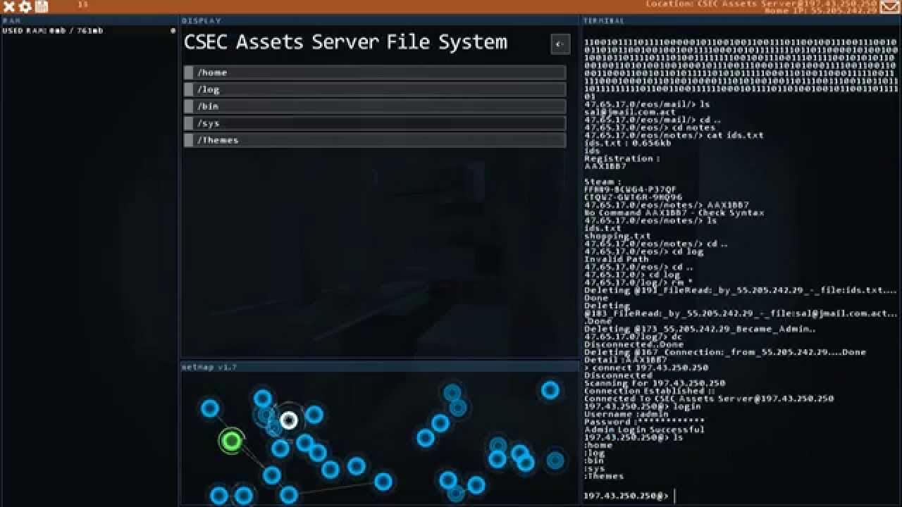 how to find bit in hacknet