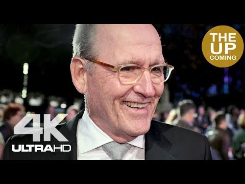 Richard Jenkins interview at the Shape of Water premiere for London Film Festival