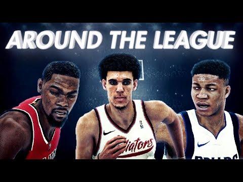 NBA 2K18 Athens Gladiators MyLeague Ep. 4 | AROUND THE LEAGUE!!!