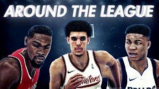 NBA 2K18 Athens Gladiators MyLeague Ep. 4   AROUND THE LEAGUE!!!