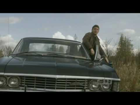 Supernatural season 5 episode 22 dean entrance