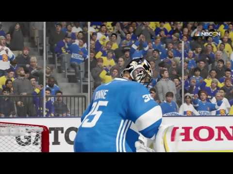NHL 17 Gameplay- Sweden Rules