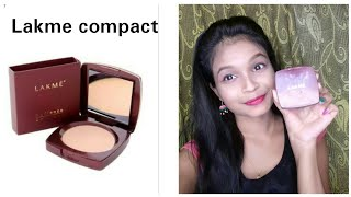 Lakme Radiance Compact Review || Beauty tips jui