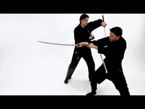 How to Do the 2 Sword Katana Technique | Sword Fighting