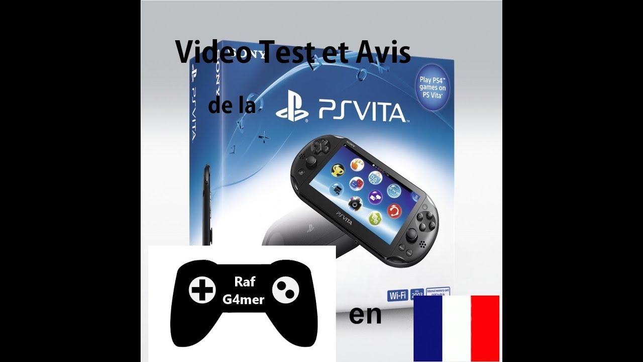 Test et avis de la ps vita 2000 slim en fran ais youtube - Ps vita test de la console ...