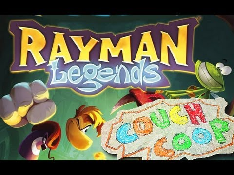 Rayman legends wii u gameplay 1 3 couch coop german for Couch coop ps4