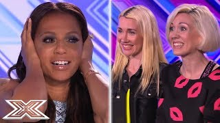 Can These Sisters Ever Stop SCREAMING! | X Factor Global