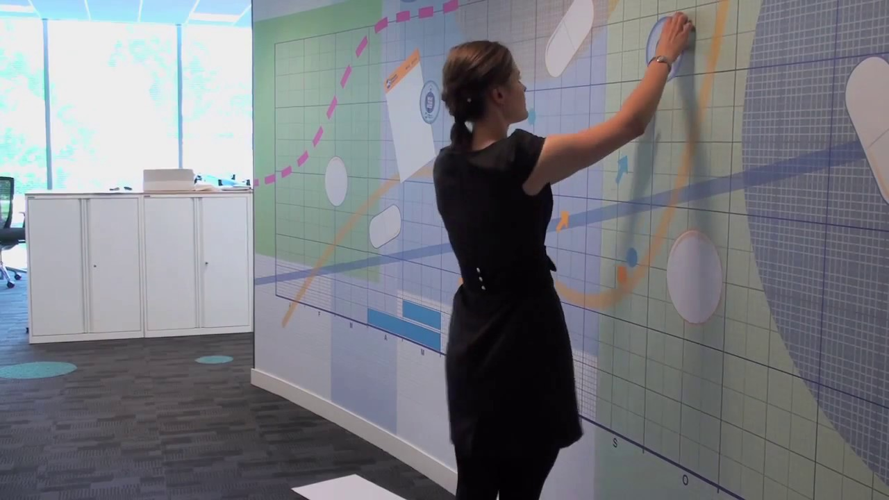 Magnetic Wall Installation Wall Graphics