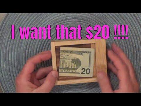 Cash out lock box Puzzle