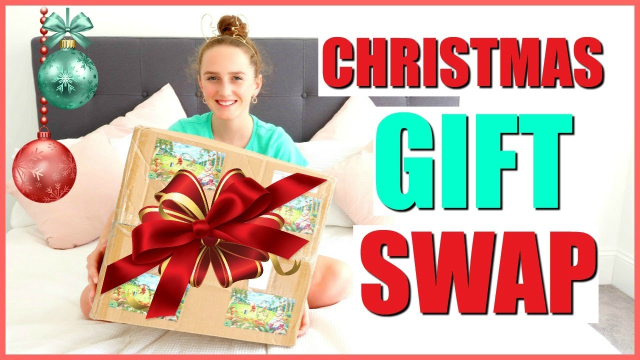GIFT SWAP With My INTERNET BESTIE- Collab With Lily April Rose - YouTube