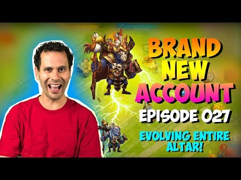 NEW ACCOUNT Episode 27: Evolving 30+ Heroes AT ONCE!