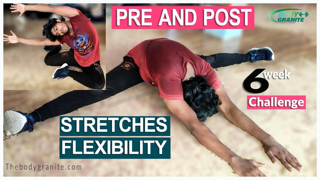 PRE AND POST WORKOUT STRETCHES FOR RECOVERY AND FLEXIBILITY - WEIGHT LOSS BODY GRANITE