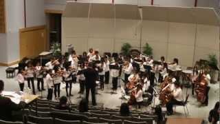 MOONLIGHT EXPRESS, Jamieson Grade 6/7 Advanced String Orchestra