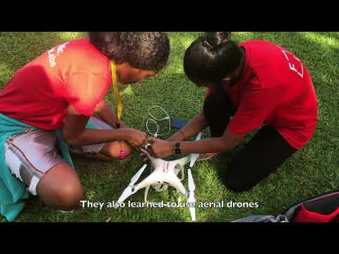South Pacific Flying Labs: Youths and Robotics in Fiji