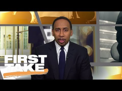Stephen A. Smith declares the Legion of Boom is 'no more' this season | First Take | ESPN
