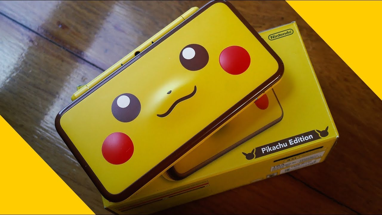 Hands On Nintendo 2ds Xl Pikachu Edition Impression And Overview