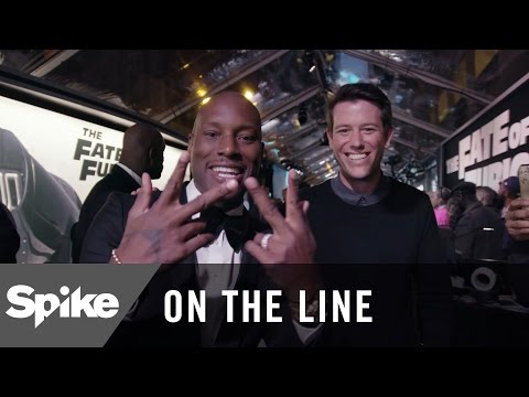 'The Fate of the Furious' Premiere w/ Vin Diesel, Dwayne Johnson & More | On The Line