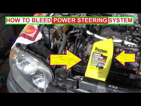 How to bleed Power Steering System the RIGHT WAY! Bleed Powersteering