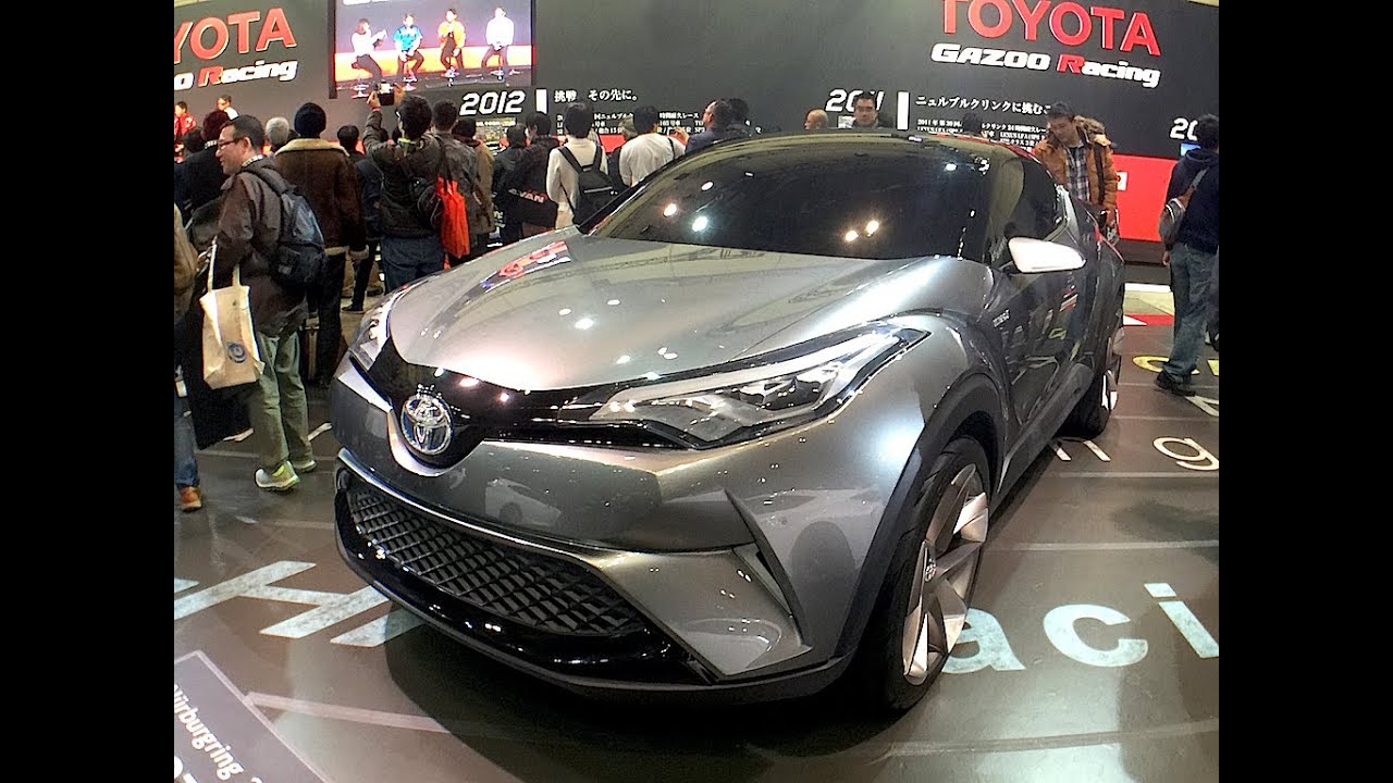 Toyota C Hr 2016 Tokyo Auto Salon Youtube
