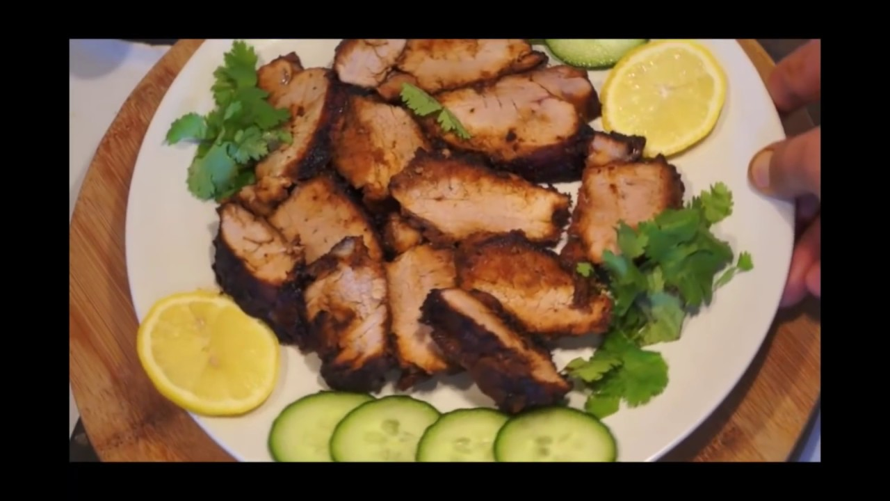 Chinese roast pork tenderloin recipe fillet youtube forumfinder Image collections