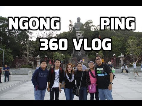 Hong Kong family travel 2017: Ngong Ping 360 Cable car ride