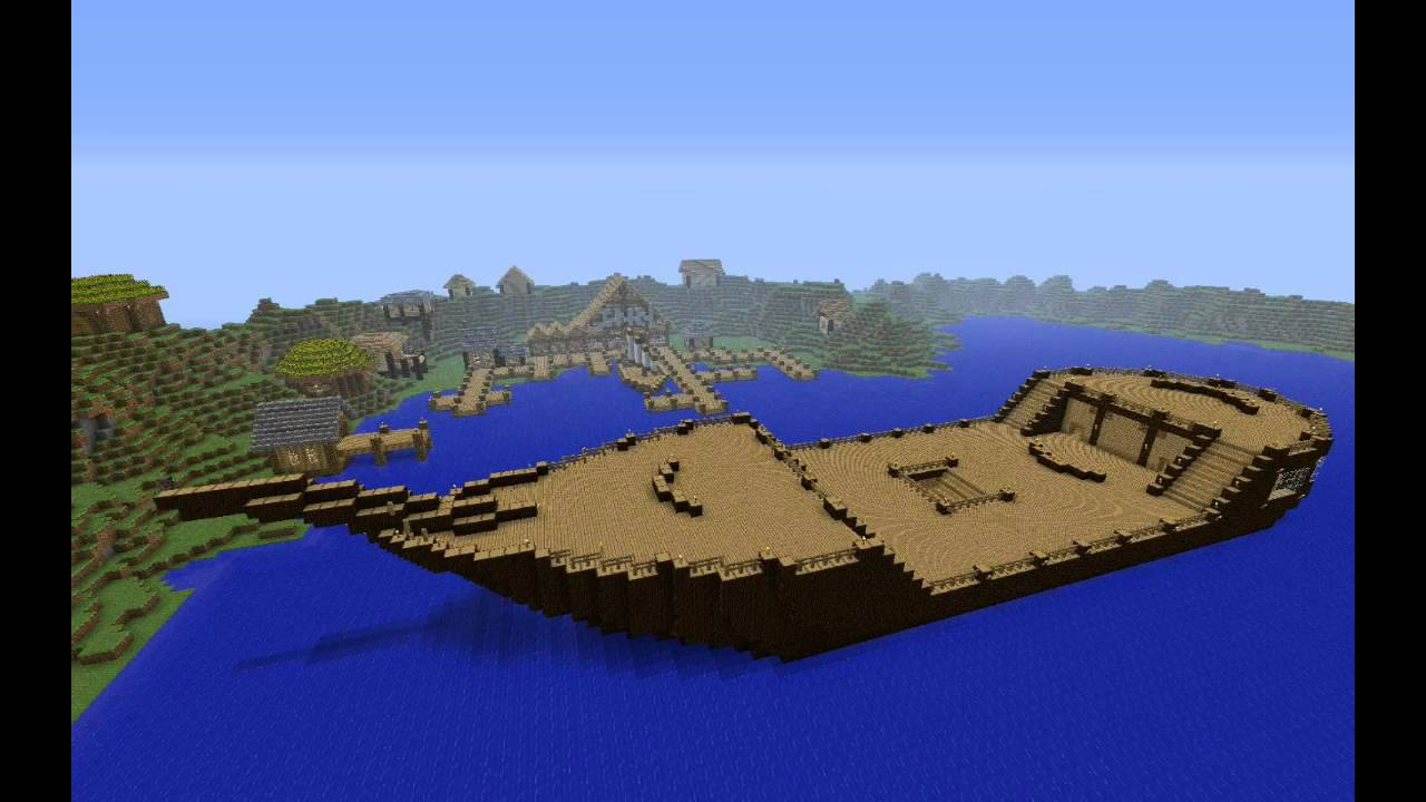 how to build a pirate ship in minecraft wikihow