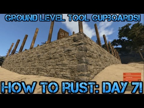 rust tool cupboard removal 2