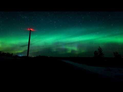 Aurora Borealis/Norrsken Lima, Dalarna(Sweden) 27/28th March 2017