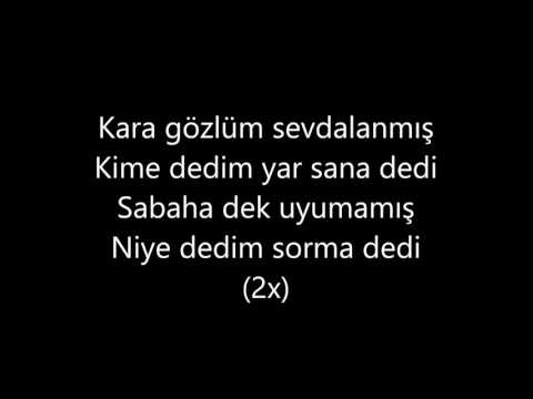 Karagözlüm Karaoke | Seda Sayan