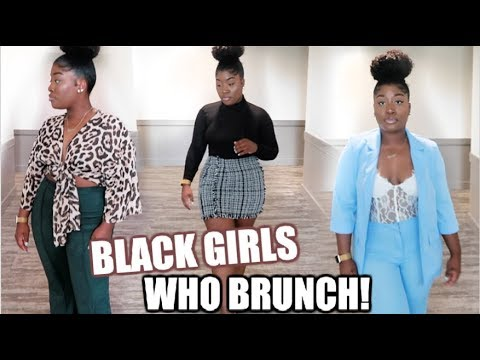 BLACK GIRLS WHO BRUNCH → FALL BRUNCH OUTFITS | SHEIN HAUL 2