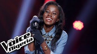 """Efezino Akpo sings """"I'm with you"""" / Blind Auditions / The Voice Nigeria Season 2"""