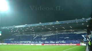 """VfL Bochum - FC St. Pauli 30.10.2015 """"Für immer und ewig Ruhrstadion"""" Choreo + Support der Bochumer"""
