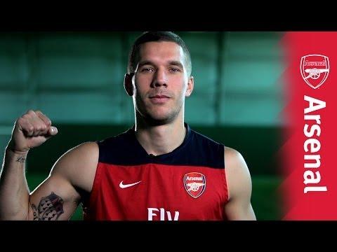 Arsenal Ink: Lukas Podolski